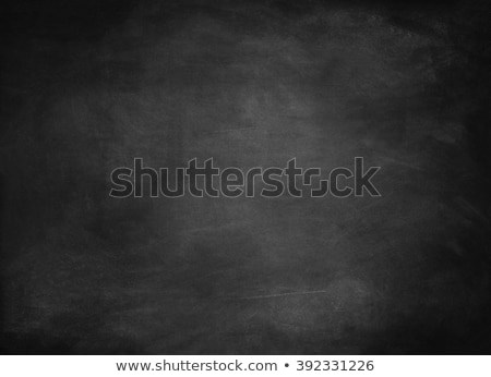 Empty chalkboard with chalk Stock photo © ShawnHempel