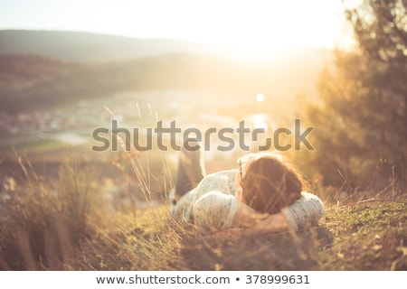 Relax in Sun Stock photo © FOTOYOU