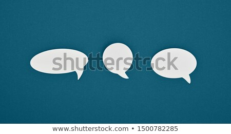 A group of empty callouts Stock photo © bluering