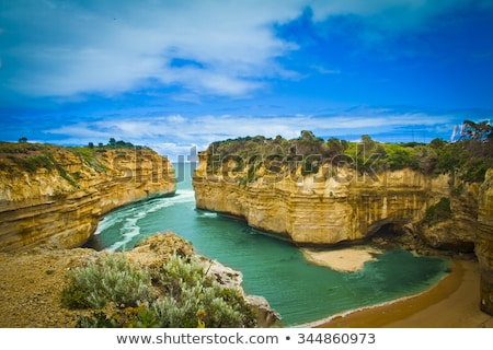 loch ard gorge at great ocean road stock photo © julianpetersphotos