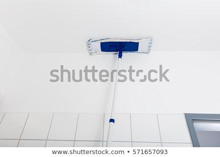 Plafond badkamer werk werken Stockfoto © AndreyPopov
