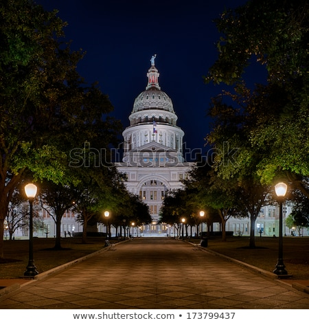 Сток-фото: Texas State Capitol Building Entrance