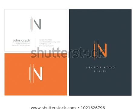 Logo logo tasarımı iş dizayn imzalamak mektup Stok fotoğraf © sdCrea