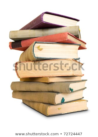 A lot to learn, large pile of old books. stock photo © lithian