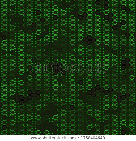Abstract background with hexagonal pattern with rainbow colors,  Stock photo © kurkalukas