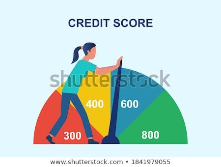 Credit Report Concept on Clipboard. Stock photo © tashatuvango