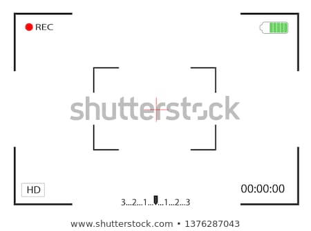 Rec camera viewfinder dark Stock photo © romvo