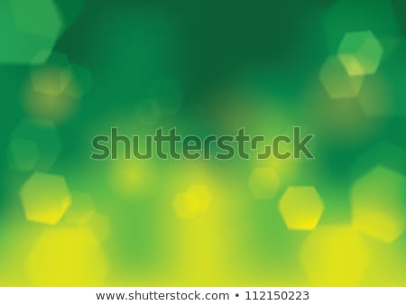 Green Bokeh Background Vector. Abstract Warm Blur And Bokeh Background. Stock photo © pikepicture