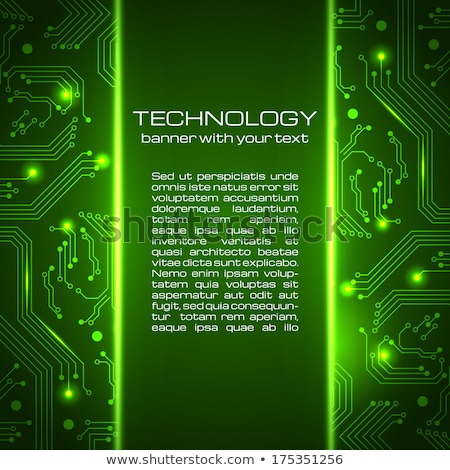 抽象的な 技術 回路基板 スタイル 構造 ネットワーク ストックフォト © SArts