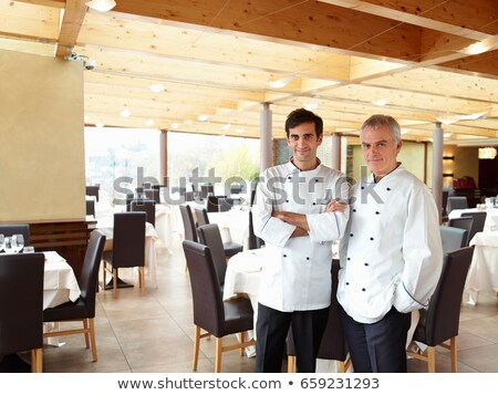 Due orgoglioso ristorante uomo Foto d'archivio © IS2