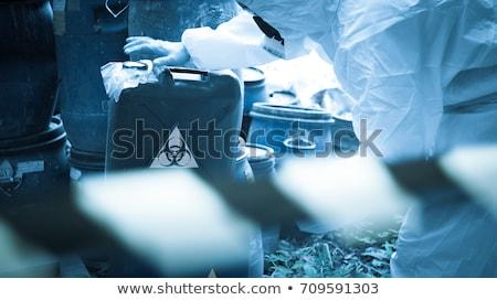 ikon · kimya · gaz · maskesi · renk · dizayn · tıbbi - stok fotoğraf © rogistok