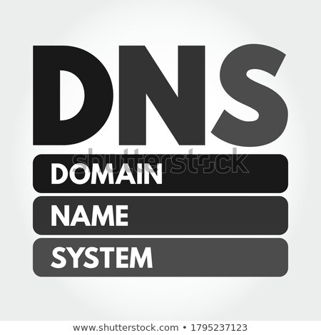 DNS domain name Stock photo © Macartur888
