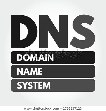 ドメイン · 名前 · セット · カーソル · アイコン · コンピュータ - ストックフォト © Macartur888