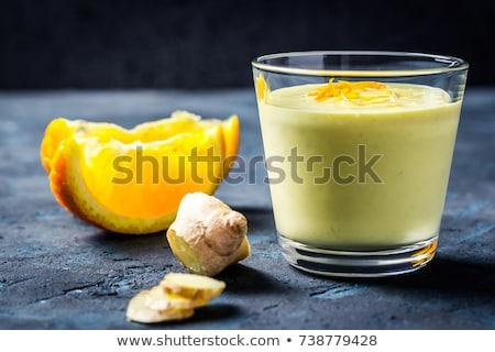 saudável · cenoura · laranja · canela · vidro - foto stock © melnyk