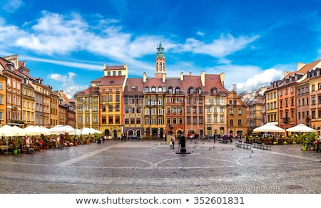 Old town square, Warsaw, Poland Stock photo © neirfy
