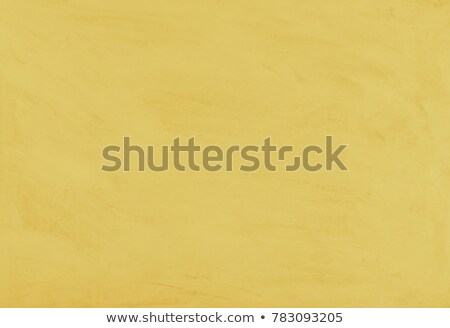 Yellow painted textured abstract background with brush strokes in gray and black shades. Stock photo © ivo_13