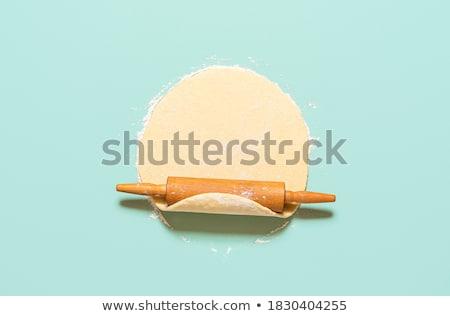 сырой · пирог · продовольствие · домой · кухне · Вишневое - Сток-фото © inxti