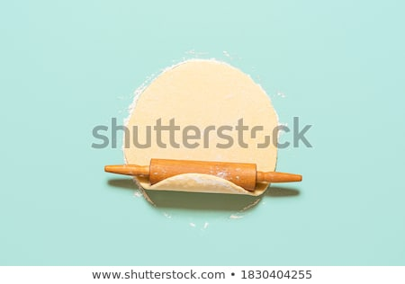 raw pie dough crust Stock photo © inxti