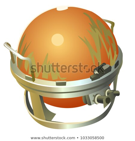 Flight data recorder used in aircrafts isolated on white background. Vector cartoon close-up illustr Stock photo © Lady-Luck