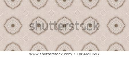 Bruin papier zwarte patroon abstract Stockfoto © Zerbor