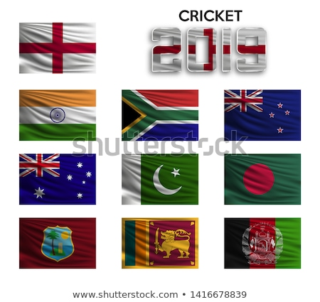 Cricket mundo taza partido calendario deportes Foto stock © vectomart