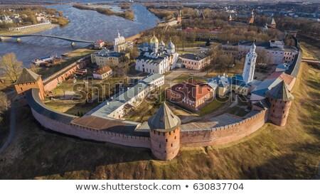 Kremlin of Novgorod the Great Stock photo © borisb17
