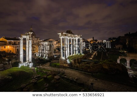 Forum of Caesar, Rome Stock photo © borisb17