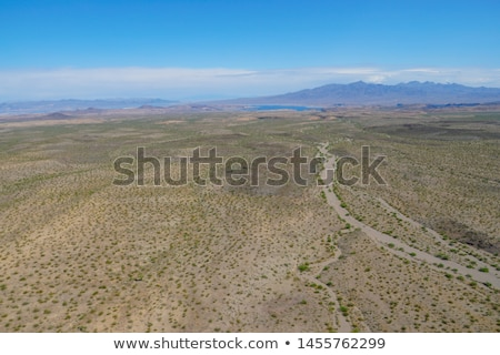 aerial view of grand canyon desert and lake mead Stock photo © dolgachov