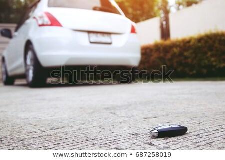 Lost Car Keys On Street Stock photo © AndreyPopov