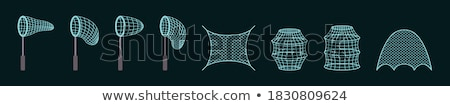 Vector Fishing Accessories Stock photo © dashadima