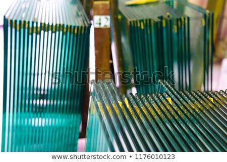 cutting a sheet of laminate Stock photo © mayboro