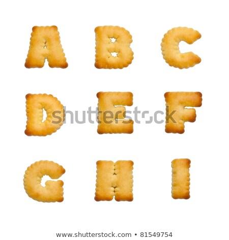 Letters of the British alphabet Stock photo © claudiodivizia