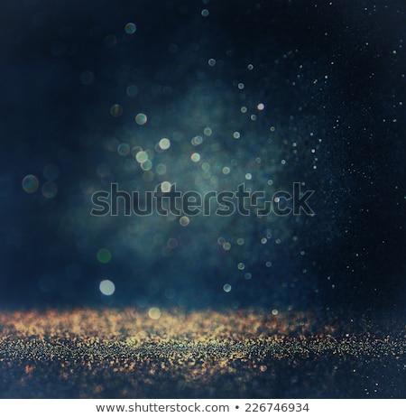 Glittery blue background Stock photo © kjpargeter