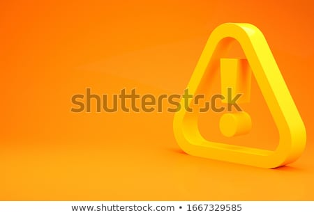 Stock photo: be carefull