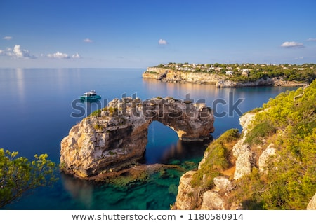 Mallorca costa norte ver ilha Espanha Foto stock © zittto