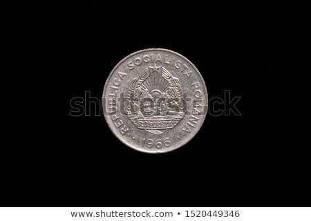 Starych ceny Rumunia czarny papieru tekstury Zdjęcia stock © Zhukow