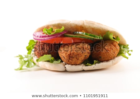 falafel sandwich stock photo © m-studio