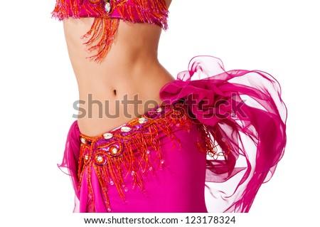 Göbek dansçı kadın dans Stok fotoğraf © Studiotrebuchet