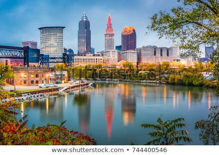 Downtown of Cleveland Stock photo © benkrut