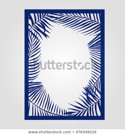 abstract swirly layout stock photo © arenacreative