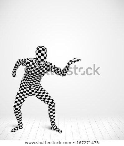 Anónimo hombre producto traje Foto stock © ra2studio