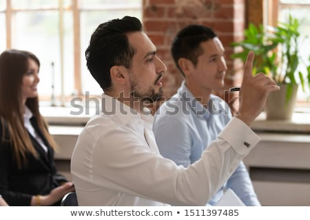 businessman with an inquiring expression stock photo © smithore