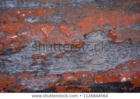 Old smutty log wall Stock photo © Anterovium