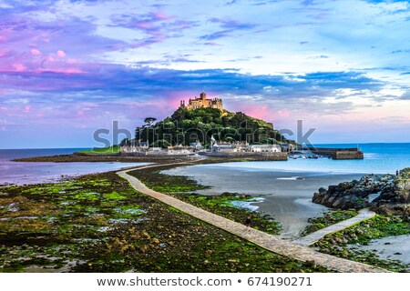 Cornwall plaj manzara deniz okyanus seyahat Stok fotoğraf © chris2766
