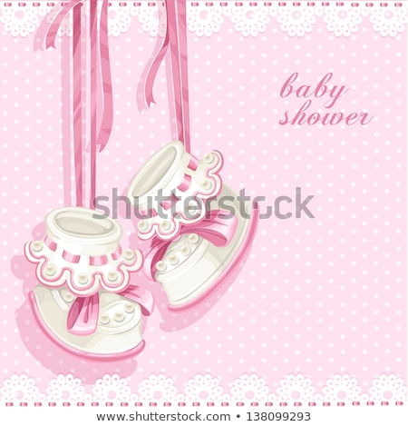 Baby girl in a carousel Stock photo © igabriela