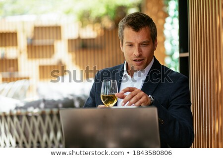 Elegant businessman Stock photo © alphaspirit