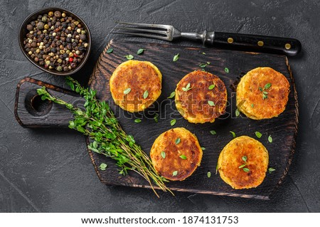 Vegetal frito verde salada comida prato Foto stock © Digifoodstock