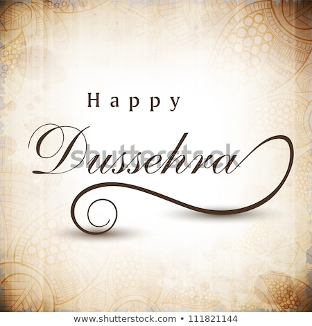 abstract artistic dussehra background stock photo © pathakdesigner