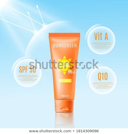 Cosmetic ads template mockup Stock photo © frimufilms