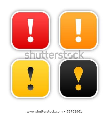 Budowy podpisania wektora cztery kolory drogowego Zdjęcia stock © SArts